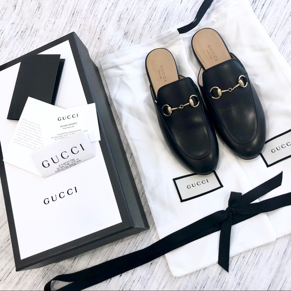 83e1935957b Gucci Princetown Leather Slipper Brand New in Box! NWT